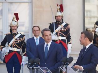 Φωτογραφία για Ελλάς-Γαλλία συμμαχία: Στο Παρίσι ο Μητσοτάκης