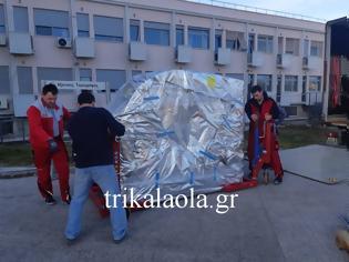 Φωτογραφία για Επιτέλους, έφτασε ο νέος αξονικός στο νοσοκομείο Τρικάλων