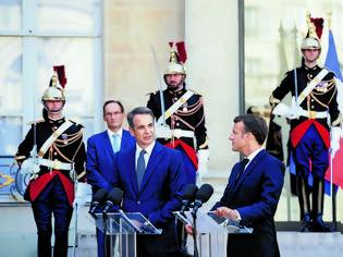 Φωτογραφία για Μητσοτάκης – Μακρόν : Κοινή καταδίκη των τουρκικών προκλήσεων, νέο κεφάλαιο στις ελληνο-γαλλικές σχέσεις