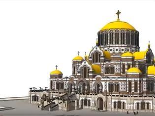 Φωτογραφία για H Ρωσία χτίζει τη μεγαλύτερη Ορθόδοξη Εκκλησία στον κόσμο!