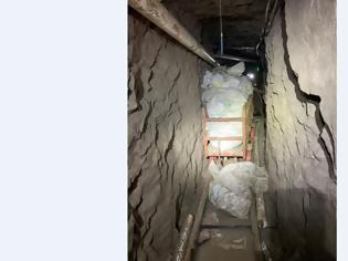 Φωτογραφία για Bρέθηκε το μεγαλύτερο τούνελ διακίνησης ναρκωτικών όλων των εποχών με μήκος 1,3 χλμ και 21 μέτρα βάθος