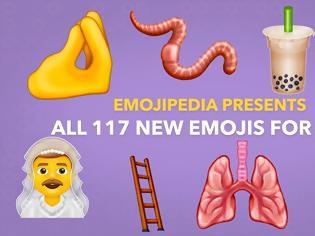 Φωτογραφία για Εδώ είναι τα 117 νέα Emojis που σχεδιάζονται για το iPhone το 2020