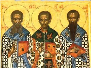 Φωτογραφία για Οι Τρεις Ιεράρχες, σύμβολα της εκκλησιαστικής κοινωνίας