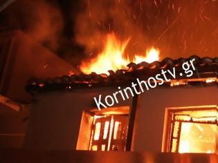 Φωτογραφία για Κιάτο: Γυναίκα βρέθηκε νεκρή μετά από φωτιά στο σπίτι της