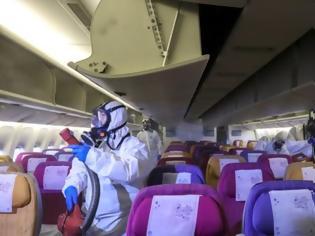 Φωτογραφία για Κορωνοϊός: Έλληνας ανάμεσα στους επιβάτες πτήσης από Κίνα προς Γαλλία