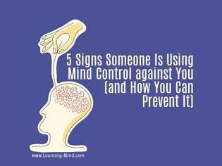 Φωτογραφία για 5 Signs Someone Is Using Mind Control against You and How You Can Prevent It