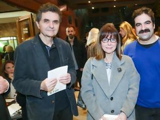 Φωτογραφία για Η Αικατερίνη Σακελλαροπούλου στο θέατρο με τον σύντροφό της