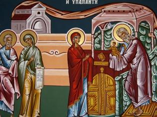 Φωτογραφία για Λόγος στην Υπαπαντή τού Κυρίου ημών Ιησού Χριστού