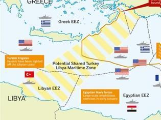 Φωτογραφία για Χάρτης της Petroleum Economist προετοιμάζει για «Χάγη» στην Αν.Μεσόγειο - «Χάνονται» Μεγίστη, Ρω και Στρογγύλη