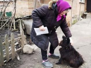 Φωτογραφία για Ουκρανία: Βουλευτής πρότεινε σε συνταξιούχο «να πουλήσει τον σκύλο της για να πληρώσει τους λογαριασμούς της»