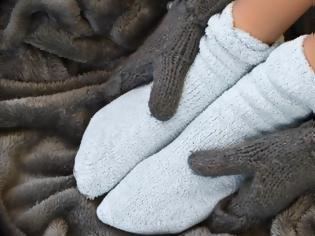 Φωτογραφία για Κρύα πόδια και χέρια: 7 μυστικά για να ζεσταθείτε…