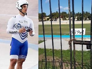 Φωτογραφία για Απίστευτο: Κλείδωσαν έξω από το ποδηλατοδρόμιο Ρόδου τον παγκόσμιο πρωταθλητή Χρ. Βολικάκη και την ομάδα του