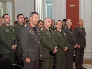 Φωτογραφία για Αποφοίτηση 1ης Εκπαιδευτικής Σειράς από τη Σχολή Πολέμου Στρατού Ξηράς