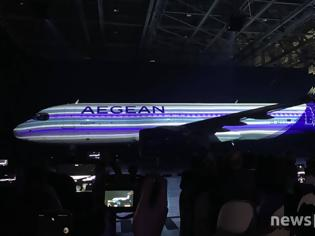 Φωτογραφία για Αυτά είναι τα νέα αεροπλάνα και το νέο σήμα της Aegean