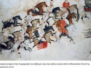 """Φωτογραφία για Ο ελληνοκινεζικός πόλεμος για τα """"Ουράνια Άλογα"""""""