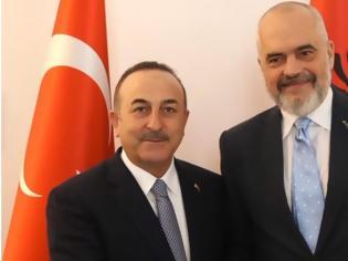 Φωτογραφία για O Τσαβούσογλου στα Τίρανα: Προετοιμάζει επίσκεψη Ερντογάν και νέες συμφωνίες