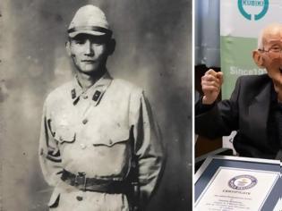 Φωτογραφία για Αυτός είναι ο γηραιότερος άνδρας στον κόσμο – Mπήκε στο βιβλίο Γκίνες