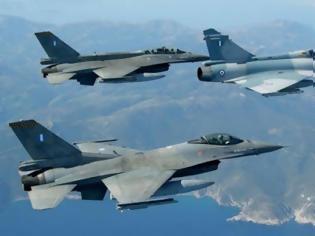 Φωτογραφία για Τούρκοι σε Έλληνες πιλότους: ''Φύγετε από το FIR μας''! Τα γαλάζια ''φτερά'' κυνήγησαν τους εισβολείς