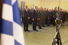 Τελετή Επαναπατρισμού Λειψάνων Έλληνα Αγωνιστή στην Κύπρο παρουσία ΥΦΕΘΑ Αλκιβιάδη Στεφανή