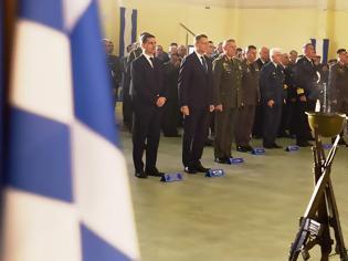 Φωτογραφία για Τελετή Επαναπατρισμού Λειψάνων Έλληνα Αγωνιστή στην Κύπρο παρουσία ΥΦΕΘΑ Αλκιβιάδη Στεφανή