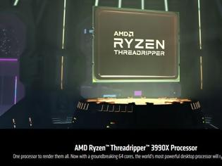 Φωτογραφία για AMD Ryzen Threadripper 3990X: Το 64-πύρηνο CPU