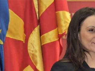 Φωτογραφία για Σκόπια: Η Βουλή απέπεμψε την υπουργό Εργασίας για την επίμαχη πινακίδα με το όνομα