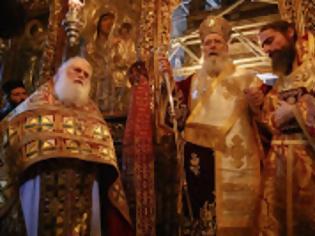Φωτογραφία για 13186 - Με χειροτονία τιμήθηκε η εορτή της Υπαπαντής στην Ι.Μ.Μ. Βατοπαιδίου