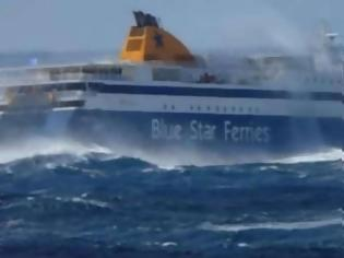 Φωτογραφία για Το Blue Star 2 έδεσε στο λιμάνι της Ρόδου έπειτα από εννέα ώρες