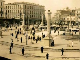Φωτογραφία για Οι «περιπέτειες» μιας πλατείας: Η Ομόνοια από το 1834 έως τις μέρες μας