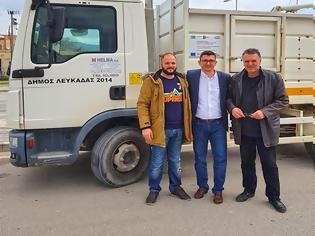 Φωτογραφία για ΔΗΜΟΣ ΞΗΡΟΜΕΡΟΥ: Παρέλαβε τα δύο (2) Απορριμματοφόρα απο το Δήμο Λευκάδας