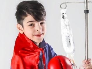 Φωτογραφία για Με λένε Παναγιώτη, είμαι 10 ετών, πάσχω από λευχαιμία και θέλω να σας πως κάτι που μας αφορά όλους