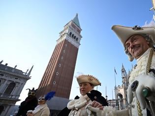 Φωτογραφία για Βενετία: Καθήλωσε το «πέταγμα του Αγγέλου»