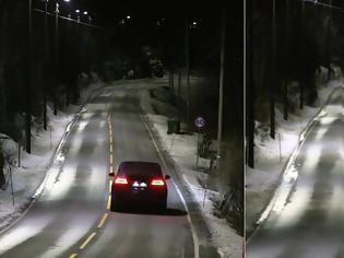 Φωτογραφία για Ήρθαν οι «έξυπνοι» δρόμοι: Τα φώτα ανάβουν αυτόματα μόλις περνά αυτοκίνητο