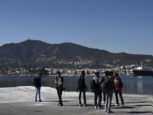 Φωτογραφία για Λέσβος: Μέσα σε… βαλίτσα προσπάθησε να φύγει από το νησί