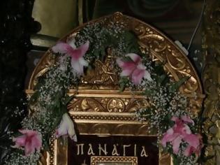 Φωτογραφία για Η Ιερά Εικόνα της Παναγίας της Τσαμπίκας από την Ρόδο στον Βόλο