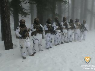 Φωτογραφία για Εκπαίδευση Διοίκησης Καταδρομών σε χιονισμένες περιοχές του Τροόδους
