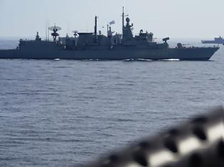 Φωτογραφία για Μήνυμα ισχύος από το Πολεμικό Ναυτικό: Ο ελληνικός στόλος βγήκε στο Αιγαίο και στην ανατολική Μεσόγειο