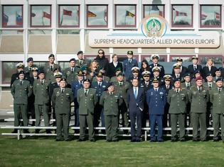 Φωτογραφία για Επίσκεψη ΥΦΕΘΑ Αλκιβιάδη Στεφανή στο ΝΑΤΟ ΗQ και στο SHAPE