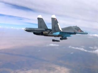Φωτογραφία για Ρωσικά μαχητικά Su-24M βομβάρδισαν τουρκική συστοιχία πυροβόλων στην Συρία: 2 Τούρκοι νεκροί και 5 τραυματίες