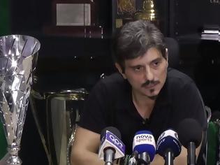 Φωτογραφία για Ξέσπασμα Γιαννακόπουλου με γαλλικά κατά της Θύρας 13 (video)