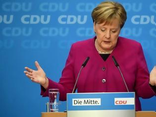 Φωτογραφία για Μέρκελ: Δεσμεύτηκα ότι δεν θα αναμειχθώ στο θέμα της νέας ηγεσίας του CDU