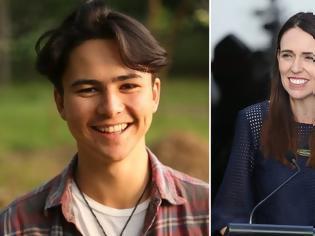 Φωτογραφία για Νέα Ζηλανδία: Ένας 18χρονος ακτιβιστής, αντίπαλος της πρωθυπουργού