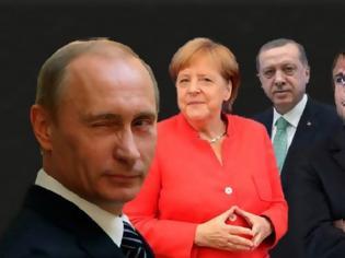 Φωτογραφία για Συρία: Ερντογάν καλεί Μέρκελ και Μακρόν να αναλάβουν δράση για την Ιντλίμπ