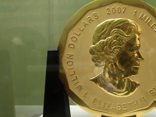 Φωτογραφία για Πώς τρία παιδιά έκλεψαν το μεγαλύτερο χρυσό νόμισμα του κόσμου βάρους 100 κιλών