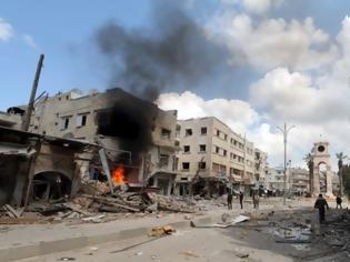 Φωτογραφία για Συρία: Οι Ευρωπαίοι ηγέτες ζητούν από τον συριακό στρατό να σταματήσει την επιχείρησή στην Ιντλίμπ