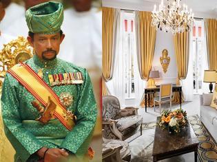 Φωτογραφία για Χασανάλ Μπολκιάχ: Τα 5άστερα παλάτια του Σουλτάνου του Μπρουνέι