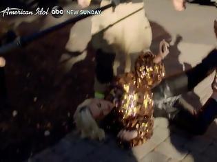 Φωτογραφία για American Idol: Πανικός στα γυρίσματα -Κατέρρευσε η Κέιτι Πέρι λόγω διαρροής προπανίου (video)