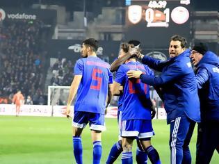 Φωτογραφία για ΠΑΟΚ-Ολυμπιακός 0-1: Τον έφερε... Τούμπα και έγινε αφεντικό για τον τίτλο