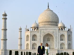 Φωτογραφία για Ταξίδι Τραμπ στην Ινδία: Οι εντυπωσιακές εμφανίσεις της Μελάνια