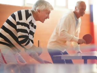 Φωτογραφία για Ερευνα: Πώς το πινγκ πονγκ μπορεί να ωφελήσει τους ασθενείς με Πάρκινσον